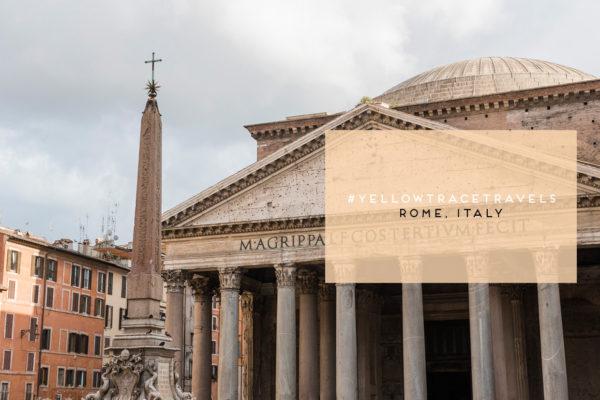#YellowtraceTravels: Rome Italy. Photo © Nick Hughes/ Yellowtrace.
