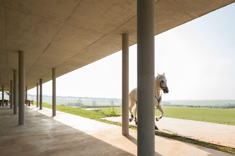 Fazenda Boa Vista: Equestrian Centre Clubhouse by Isay Weinfeld   Yellowtrace