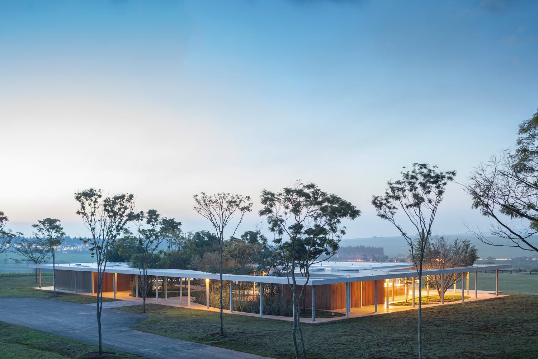 Fazenda Boa Vista Equestrian Centre Clubhouse By Isay