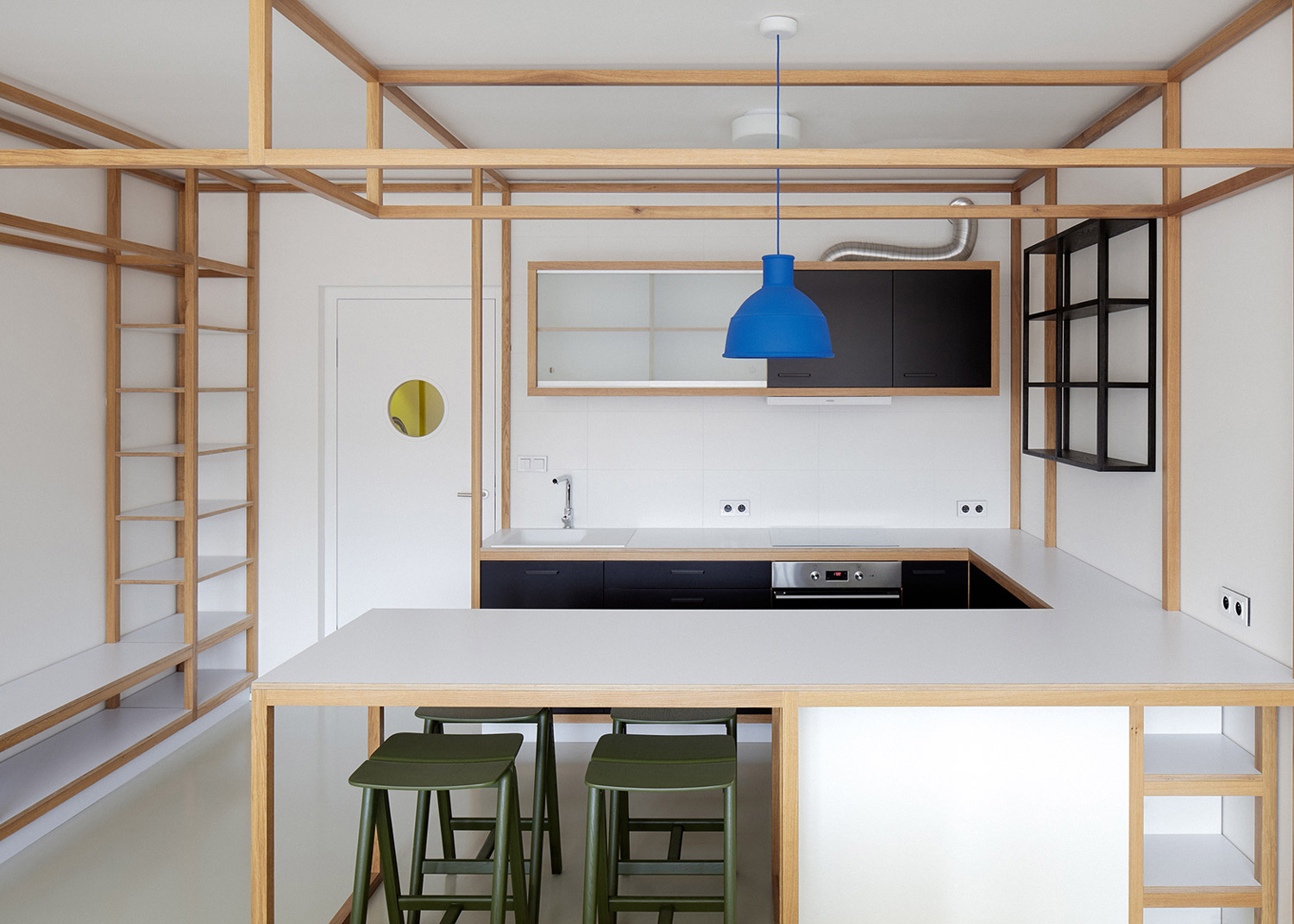 Guest Apartment Dddaann Mjolk Design interior Prague | Yellowtrace
