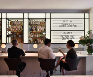 Luke's Oyster Bar & Chophouse in Singapore by HASSELL | Yellowtrace