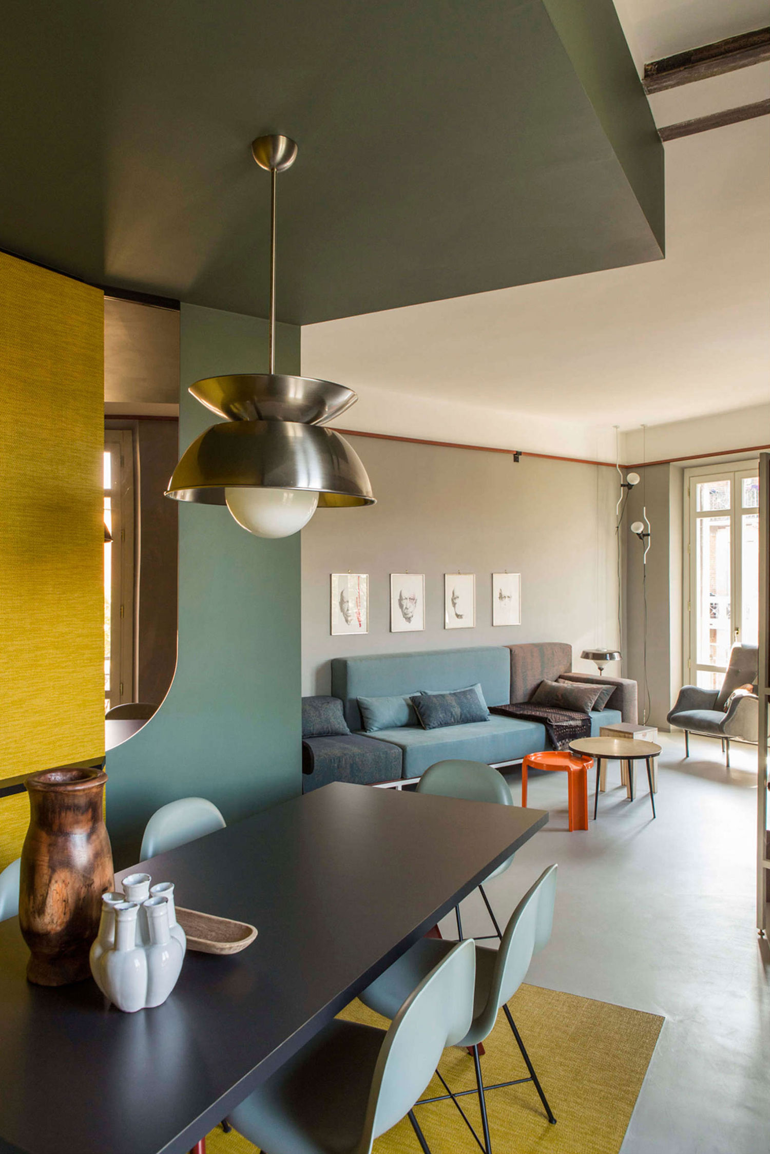 Promenade Apartment in Turin by SCEG ARCHITECTS   Yellowtrace