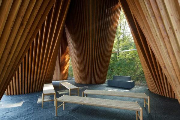 Sayama Forest Chapel by Hiroshi Nakamura and NAP | Yellowtrace