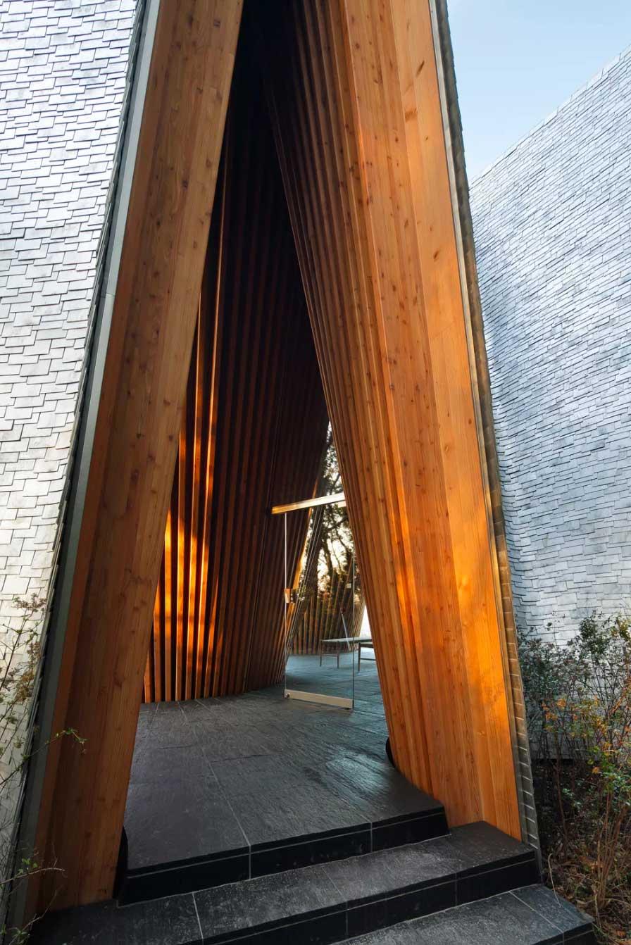 Sayama Forest Chapel by Hiroshi Nakamura & NAP | Yellowtrace