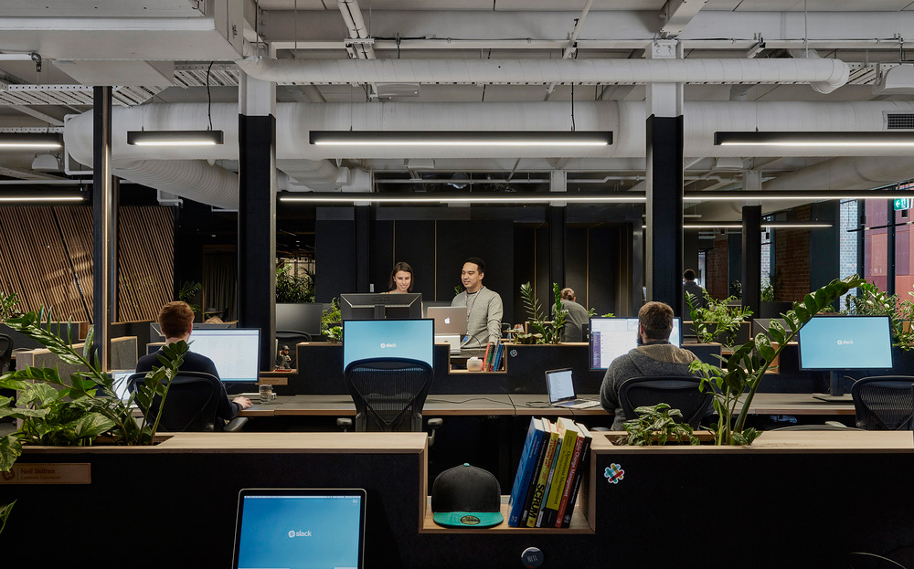 Slack Office in Melbourne by Breathe Architecture | Yellowtrace