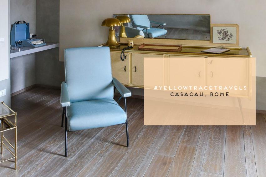 CasaCau Apartments, Rome. Photo by Nick Hughes/ Yellowtrace