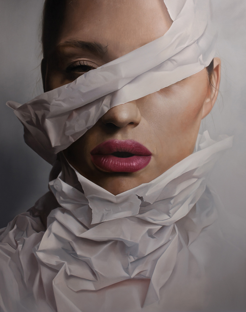 Arresting Hyperrealistic Portraits by Mike Dargas   Yellowtrace