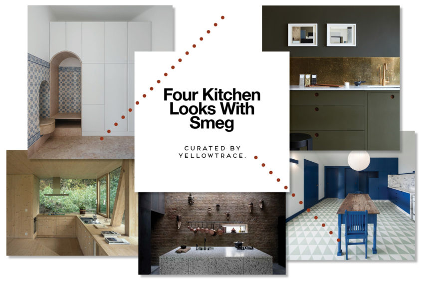 Four Kitchen Looks With Smeg, Curated by Yellowtrace.