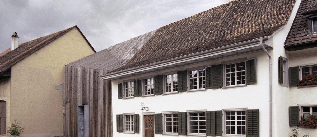 Haus zur Blume in Löhningen, Switzerland by Marazzi Reinhardt | Yellowtrace