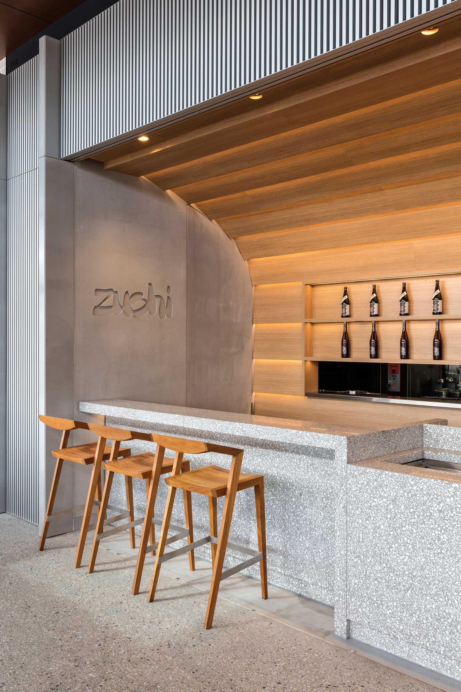 Zushi barangaroo by koichi takada architects yellowtrace for Exterior restaurant design ideas
