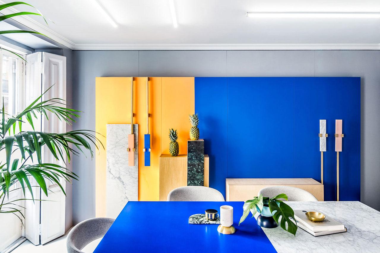 Masquespacio Designs Colourful Interior for it's Own Valencia Studio   Yellowtrace