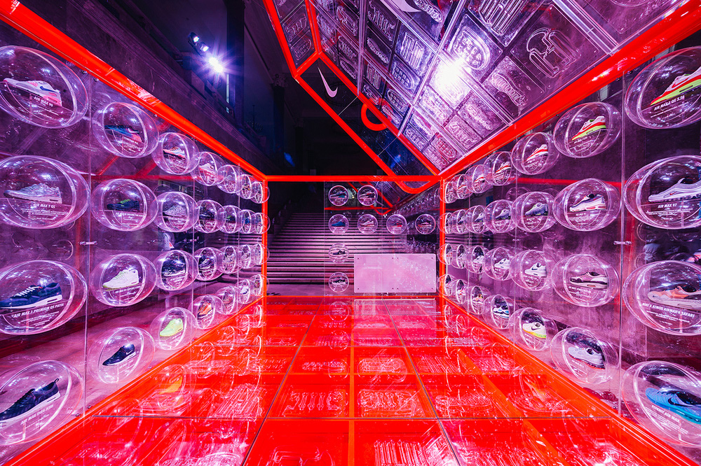 Nike Shoe Box Pop-Up in Shanghai by Rosie Lee | Yellowtrace