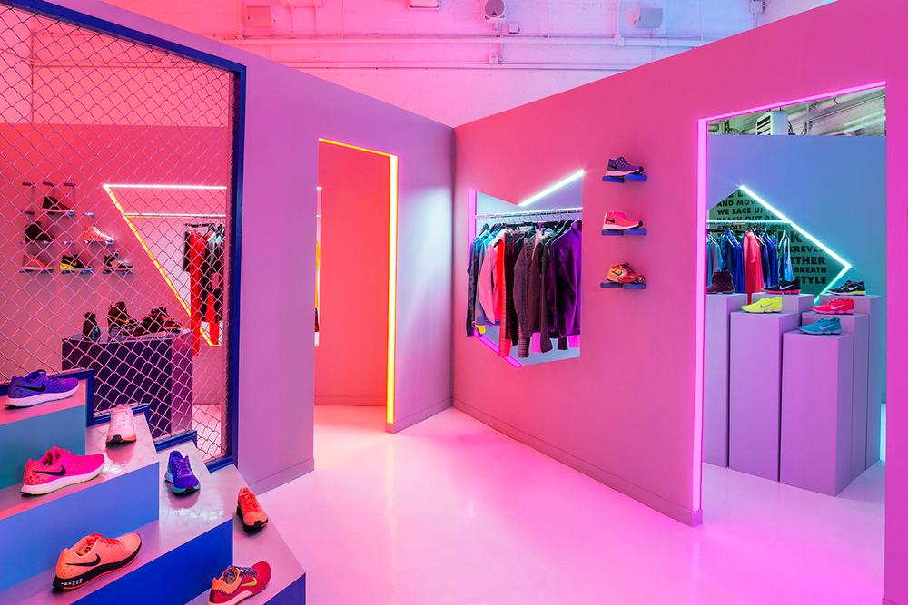 Nike Womens Fall Presentation NYC Jen Brill Robert Storey Interior Design | Yellowtrace