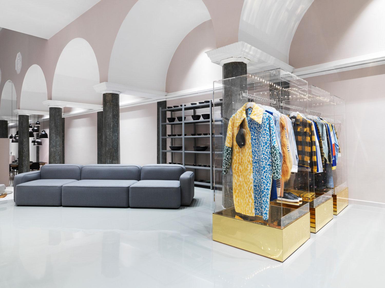 normann copenhagen 39 s shiny new flagship store. Black Bedroom Furniture Sets. Home Design Ideas
