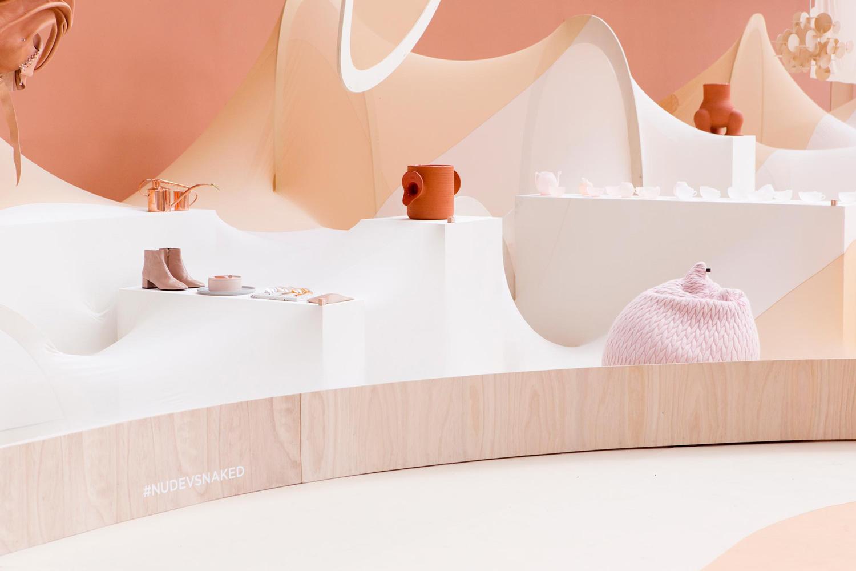 Nude vs Naked Shoppable Exhibition At Modefabriek | Yellowtrace