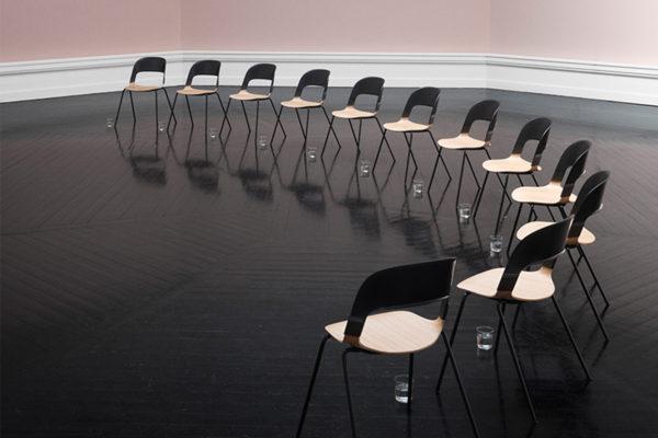 Pair Chair by Benjamin Hubert of LAYER for Fritz Hansen   Yellowtrace
