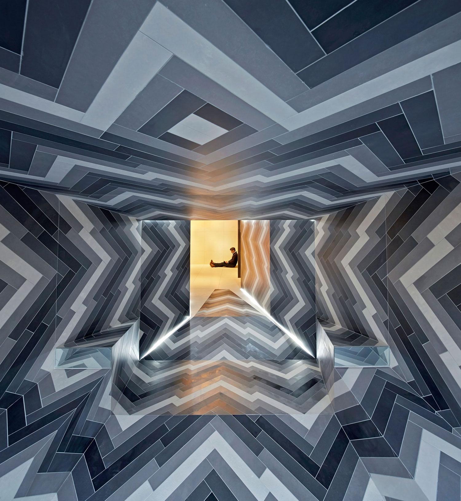 Pulsate installation design by Lily Jencks & Nathanael Dorent at Capitol Designer Studio, London | Yellowtrace