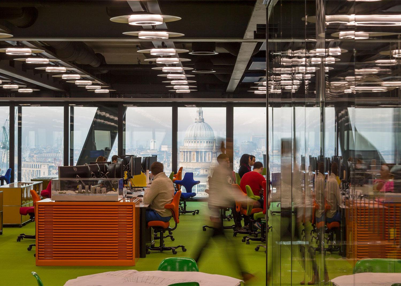Rogers Stirk Harbour + Partners London Studio   Yellowtrace