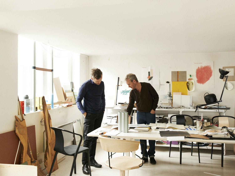 Ronan and Erwan Bouroullec's Paris Studio   Yellowtrace
