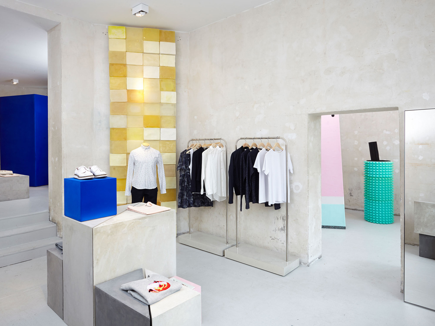 Seek No Further Fruit of the Loom Pop up by Universal Design Studio | Yellowtrace