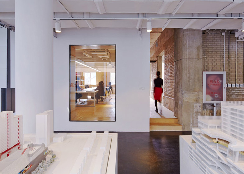 Spark Architects Beijing office   Yellowtrace