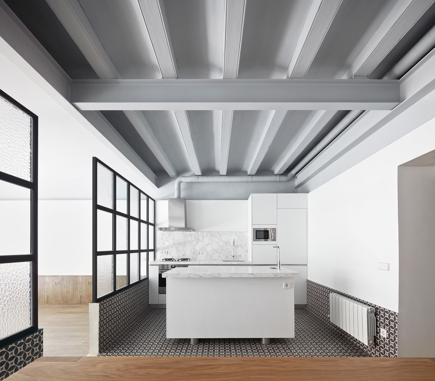 Barcelona Apartments San Jose: Tamarit Apartment In Barcelona By RAS Arquitectura
