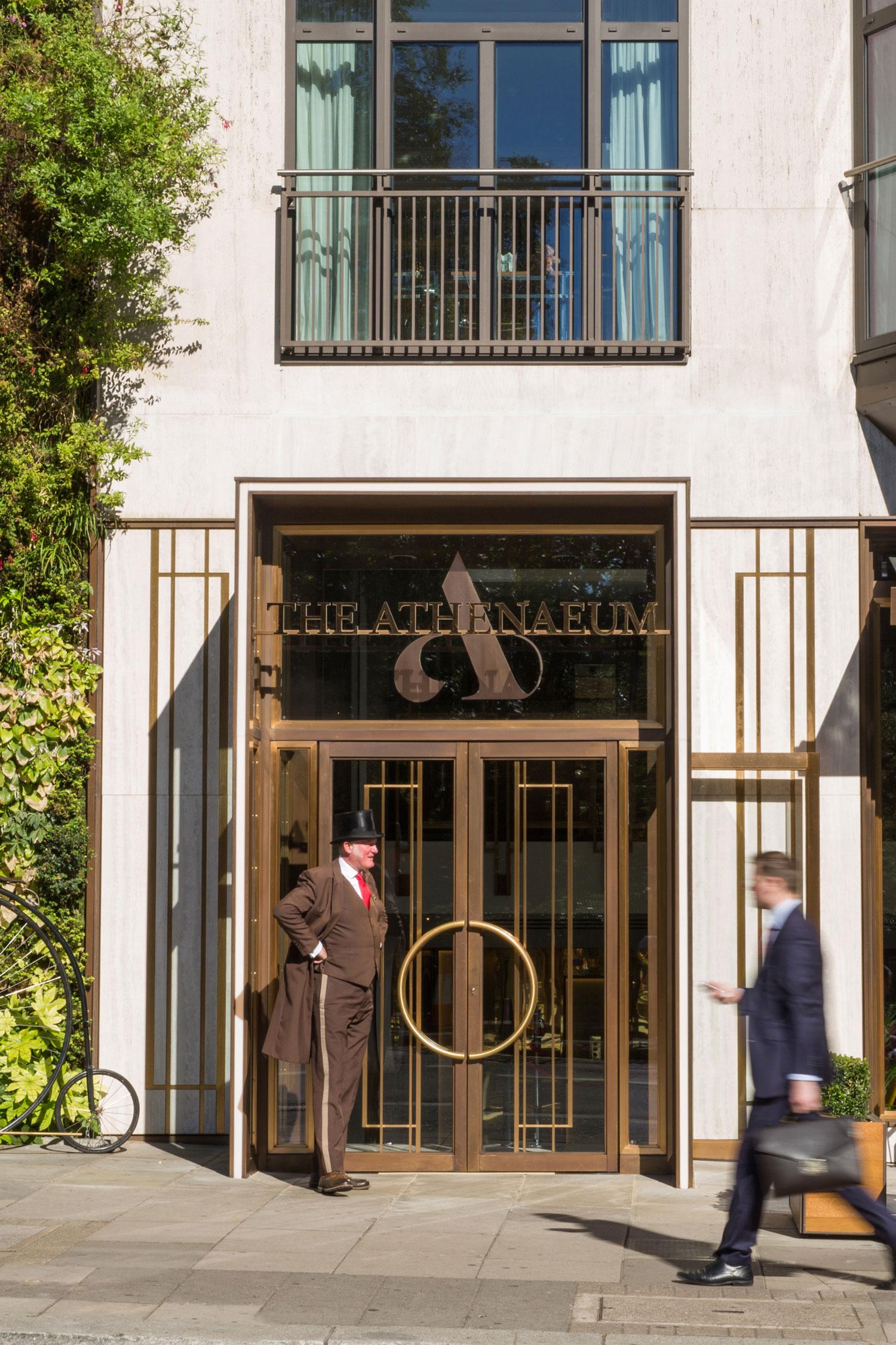 athenaeum hotel residences by kinnersley kent design