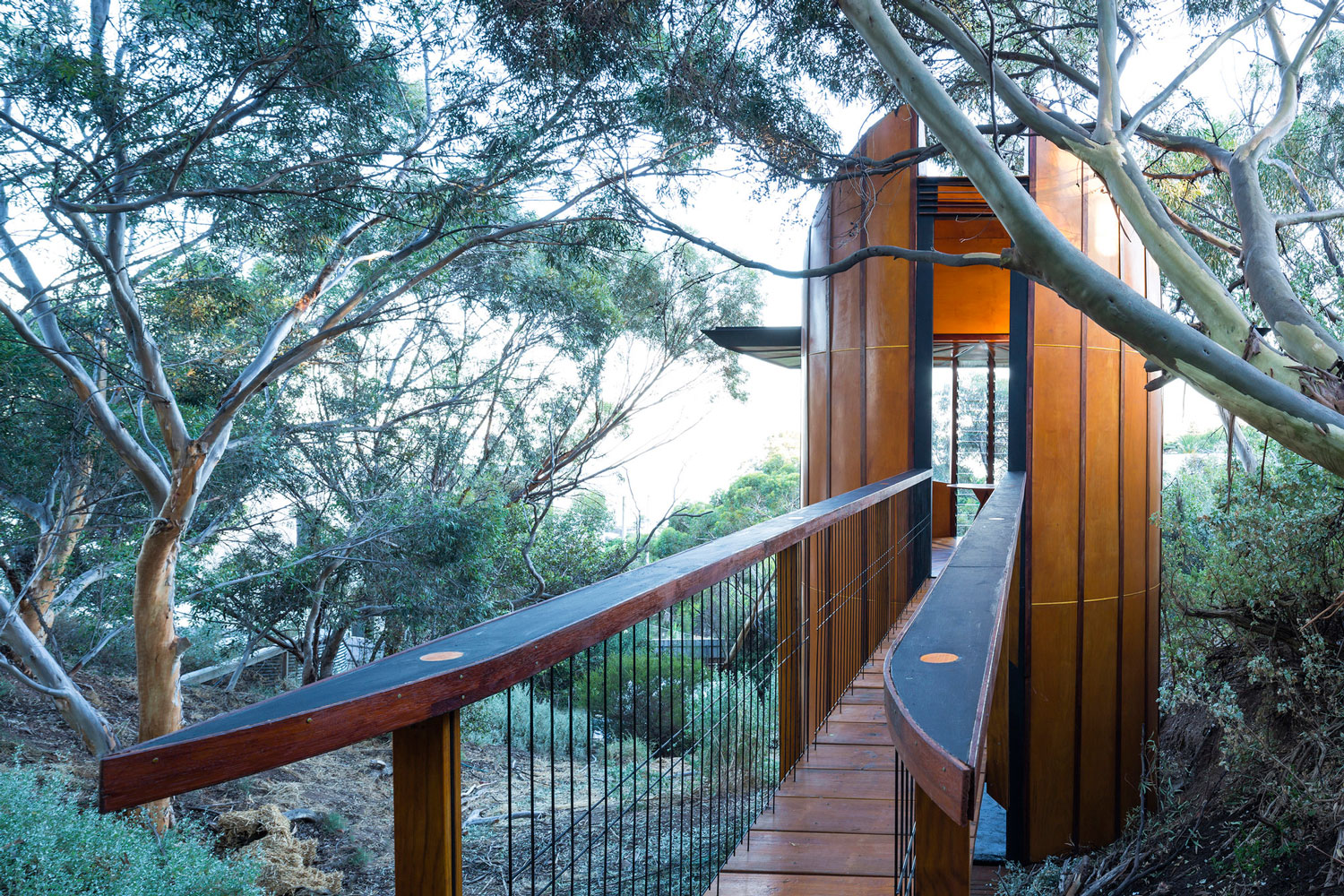 Treetop Studio in Adelaide, Australia by Max Pritchard   Yellowtrace