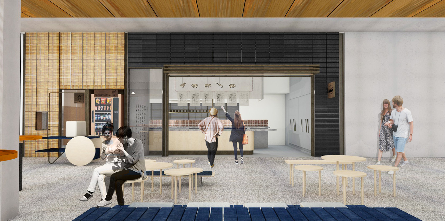 Ume Burger Rendering by Amber Road | Yellowtrace