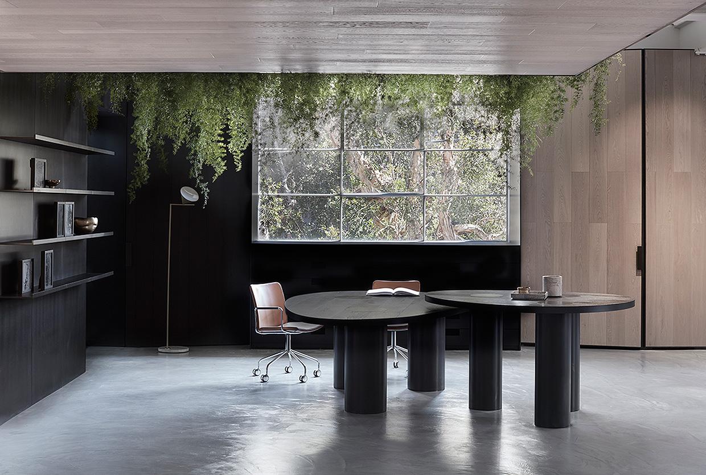 woodcut showroom in sydney 39 s waterloo by mim design. Black Bedroom Furniture Sets. Home Design Ideas