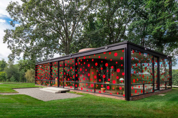 Yayoi Kusama's 'Narcissus Garden' at Philip Johnson's Glass House | Yellowtrace