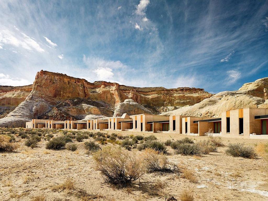 Amangiri Resort and Spa In The High Desert Of Utah. Photo © Joe Fletcher | Yellowtrace