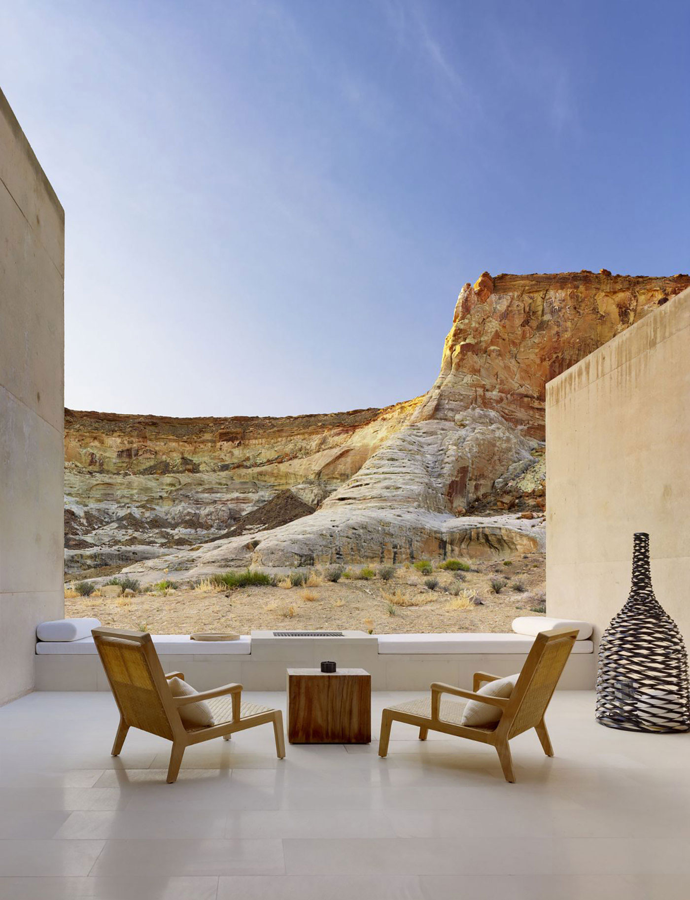 Amangiri resort spa in the high desert of utah for Best spa vacations usa