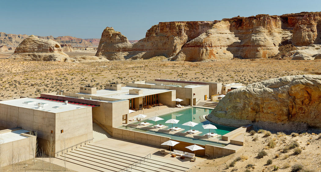 Amangiri Resort and Spa In The High Desert Of Utah. Photo © Joe Fletcher | Yellowtrace
