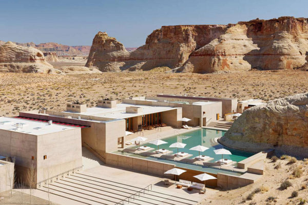 Amangiri Resort and Spa In The High Desert Of Utah. Photo © Giorgio Possenti | Yellowtrace