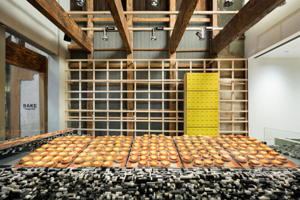 Bake Cheese Tart Store in Kyoto by Yusuke Seki | Yellowtrace