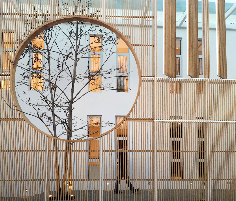 Elongated Industrial Box by Ding Hui Yuan Zen & Tea Chamber by He Wei | Yellowtrace