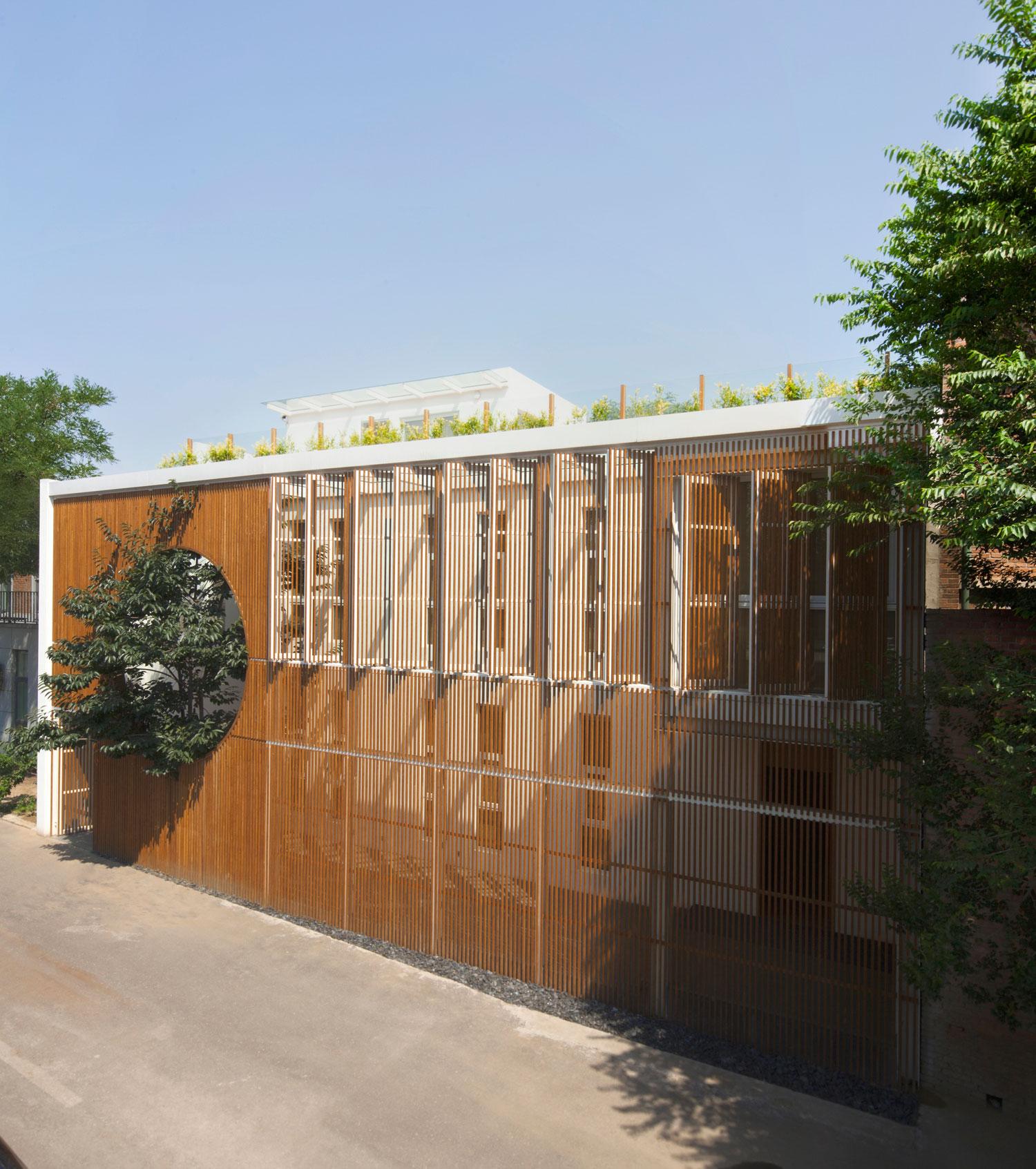 Elongated Industrial Box by Ding Hui Yuan Zen & Tea Chamber by He Wei   Yellowtrace