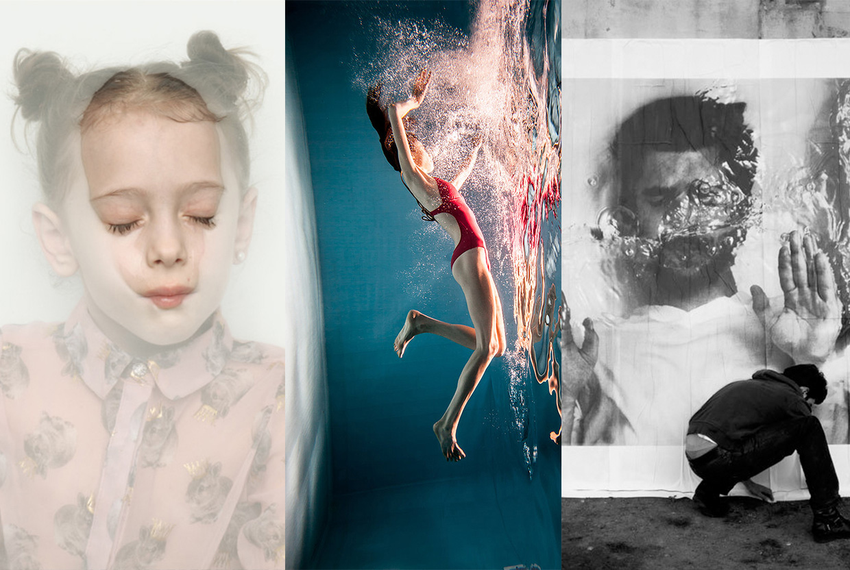 Emotive Portraits of People Submerged Under Water, Curated by Yellowtrace.