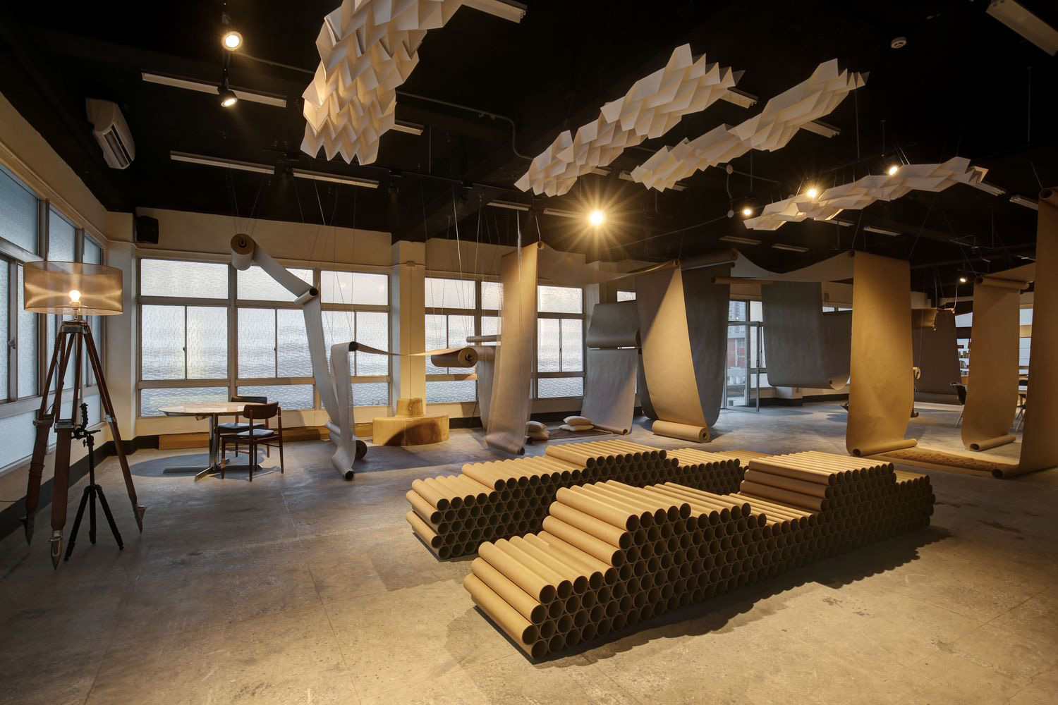Happier Café Paper Space by JC Architecture | Yellowtrace