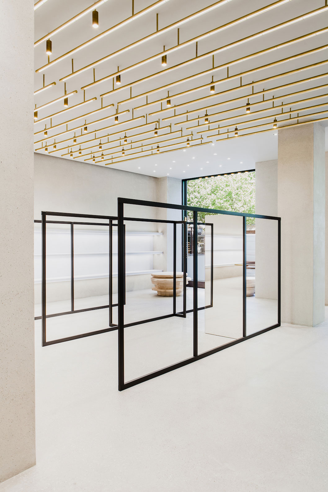 Jil Sanderu0027s New Berlin Store By Andrea Tognon Architecture | Yellowtrace