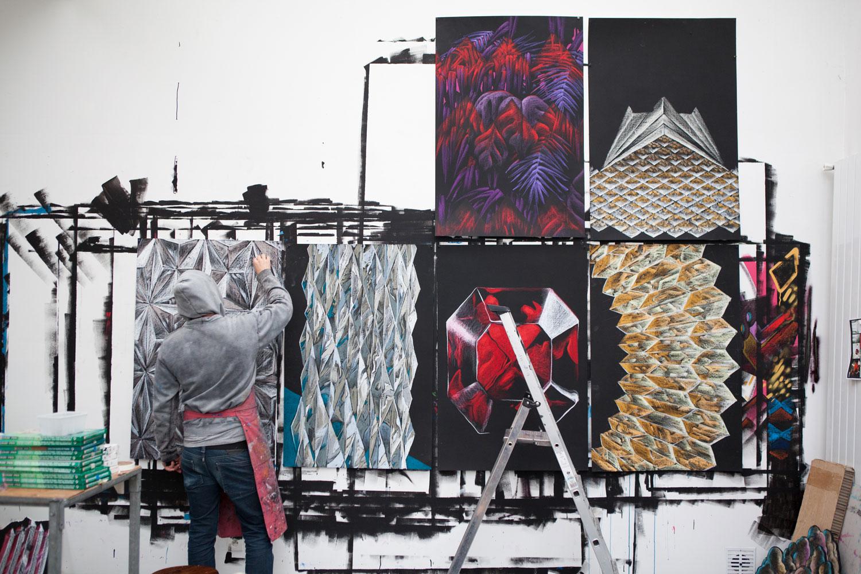 Julien Colombier Artwork Atelier   Yellowtrace