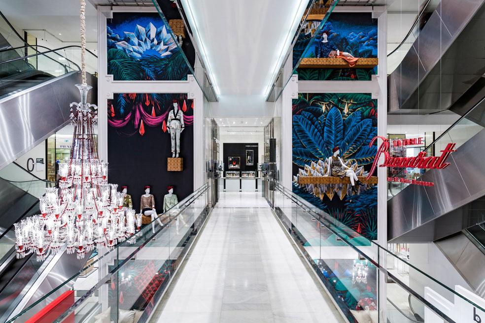Julien Colombier Artwork Le Printemps Atrium   Yellowtrace
