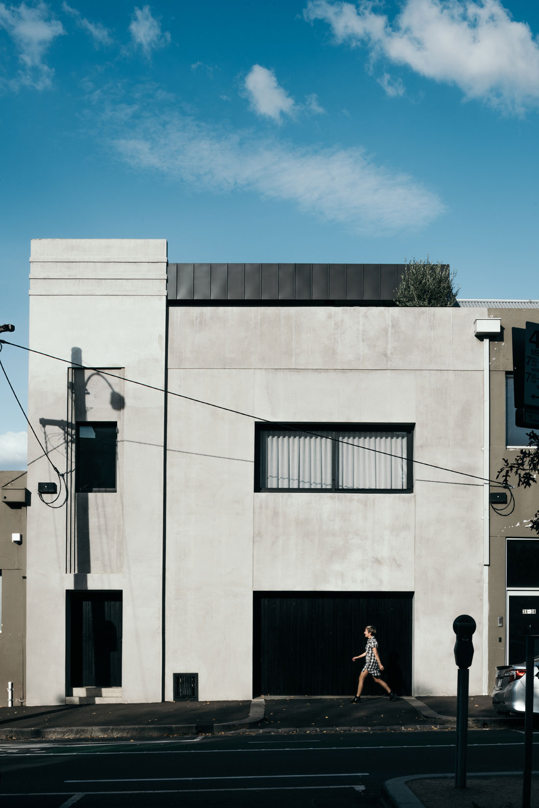 Leveson Street Residence by Ha. Photo by Dan Hocking | Yellowtrace
