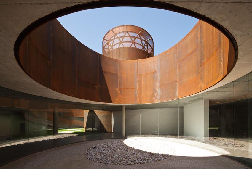 Museo nteractivo de la Historia de Lugo by Nieto-Sobejano Arquitectos | Yellowtrace