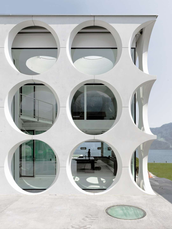 O House by Philippe Stuebi Architekten Lucerne Switzerland   Yellowtrace