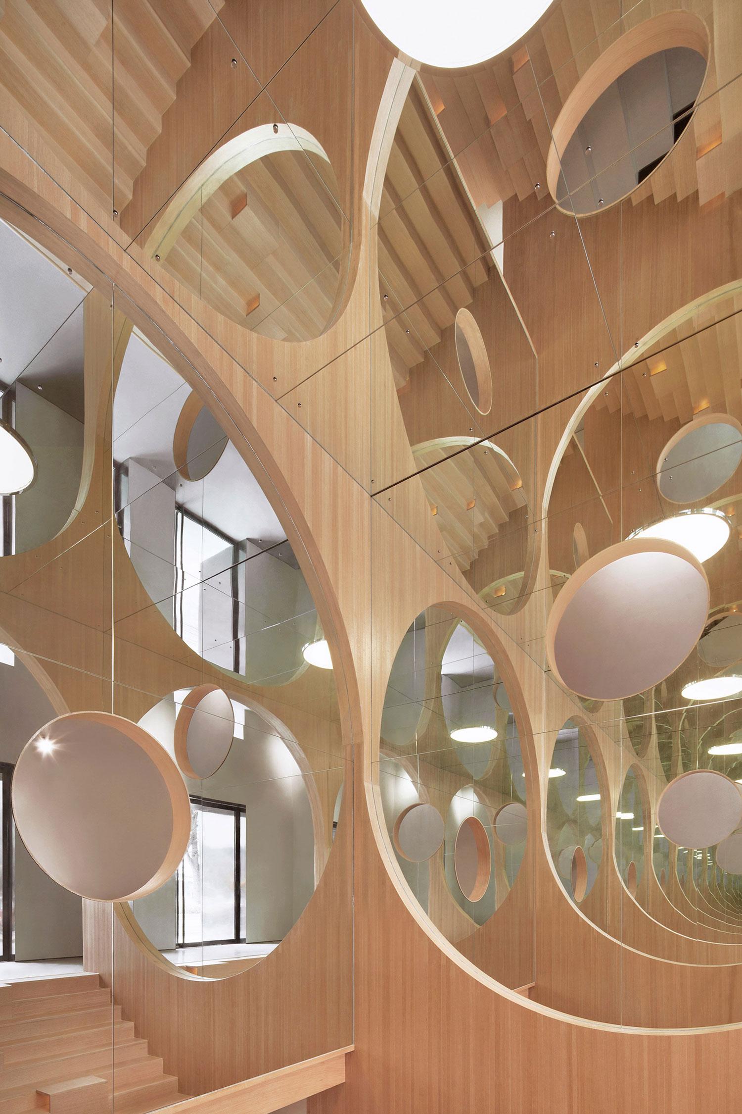 Hongkun Art Auditorium in Beijing, China by Penda | Yellowtrace