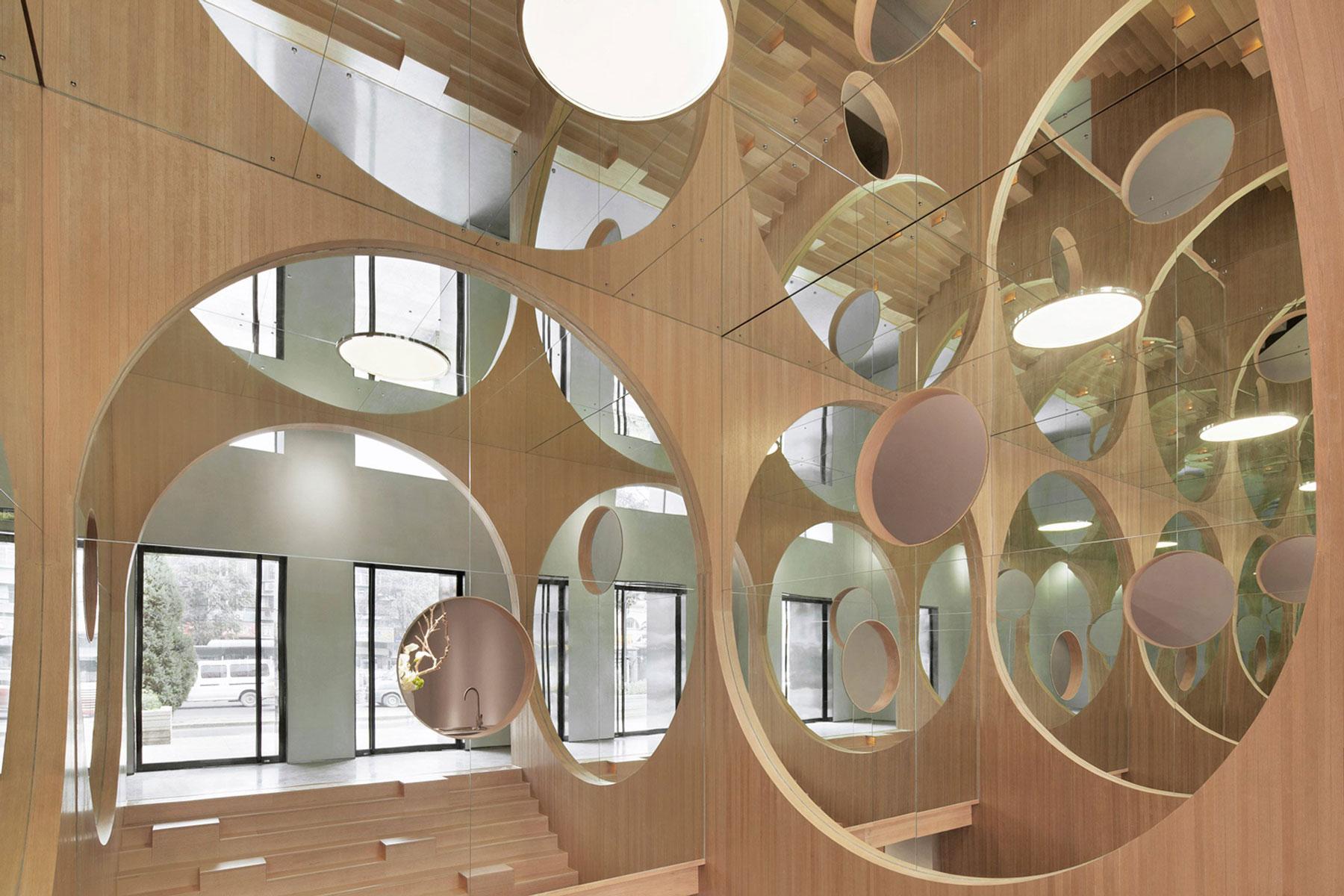 Hongkun Art Auditorium in Beijing, China by Penda   Yellowtrace