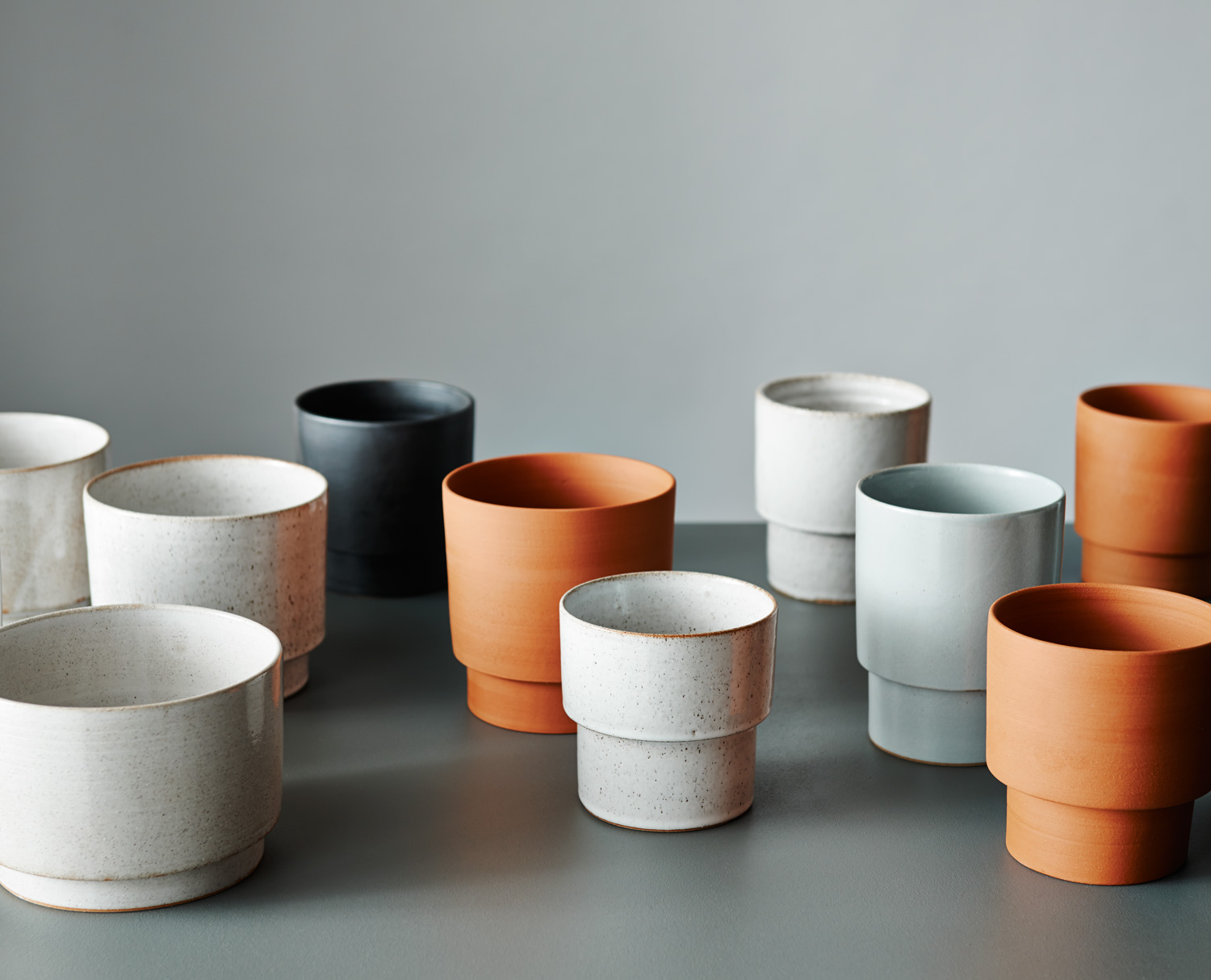 Planter by Bruce Rowe from Anchor Ceramics   Yellowtrace