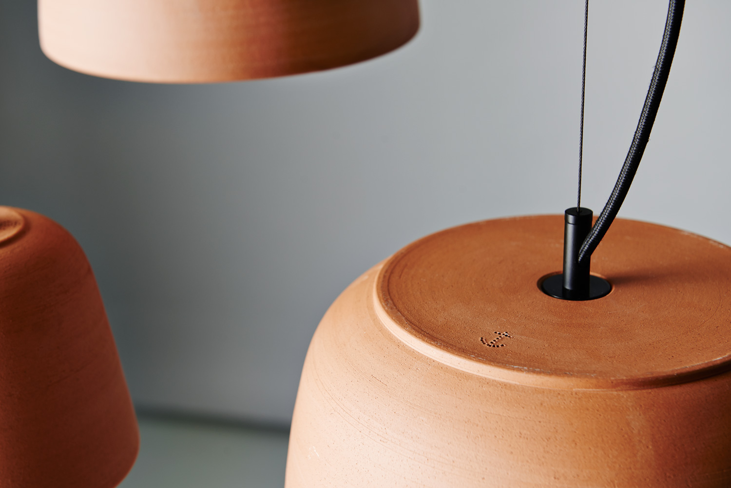 Potter Light by Bruce Rowe from Anchor Ceramics   Yellowtrace
